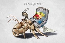 No Place Like Home by rob-art at zippi.co.uk art | decor | wall art | inspiration | animals | home decor | idea | humor | gifts