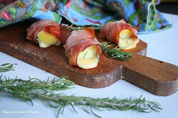 Bocconcini di patate e speck