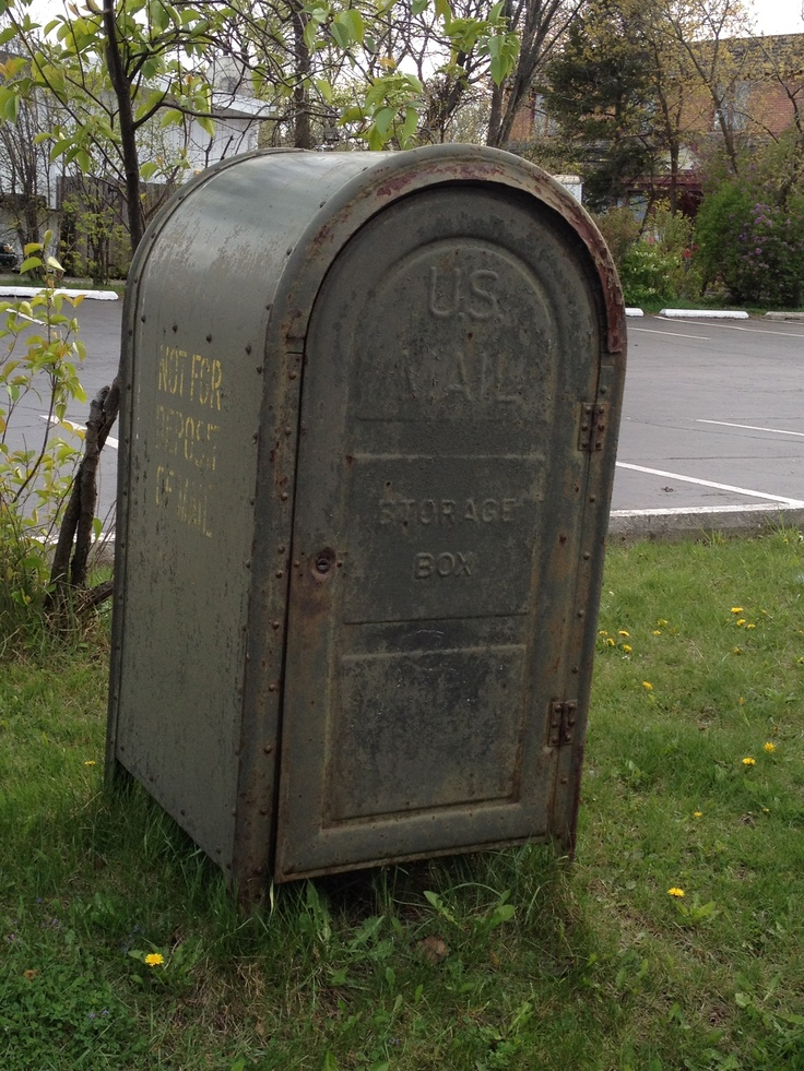 US Mail Storage Box - Not For Deposit Of Mail