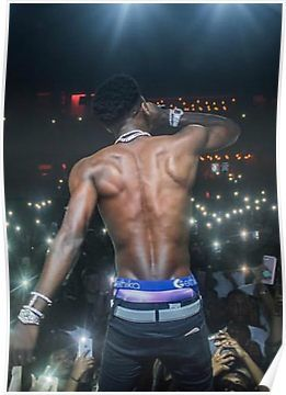 YoungBoy Never Broke Again Decided Album Cover Poster