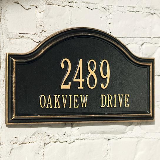 25 best ideas about address plaque on pinterest address for Location plaque garage