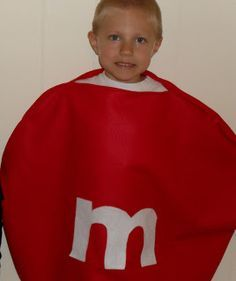My Little Blogspot: Easy M & M Halloween Costume
