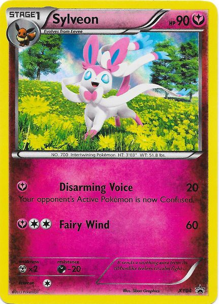 Pokemon Eevee Sylveon Card team plasma sylveon ca...
