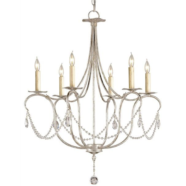 233 best chandeliers images on pinterest chandeliers antique shop for the currey and company 9890 silver leaf 6 light wrought iron small crystal lights chandelier with customizable shades and save aloadofball Gallery