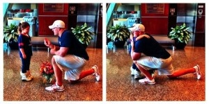 """JJ Watt Fake-Proposes to Six Year Old Fan. """"Will you be my pretend wife for the day?"""" PRECIOUS!."""