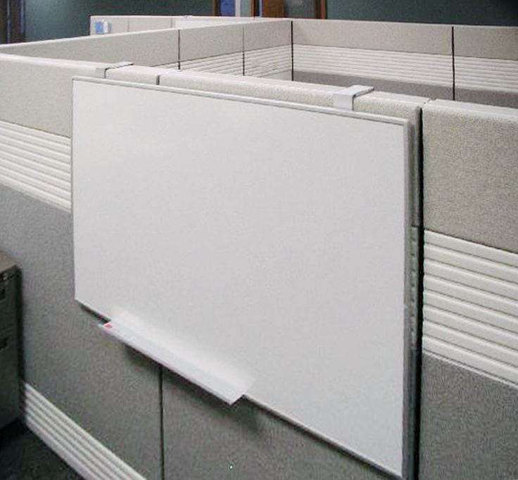 Egan Aluminum Frame Board Hanging Off Cubicle Wall Egan