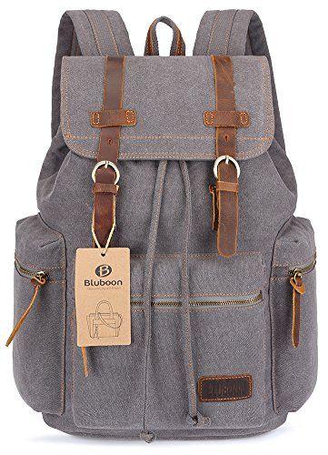 BLUBOON Canvas Vintage Backpack Leather Casual Bookbag Me... https://smile.amazon.com/dp/B00ODPGV0G/ref=cm_sw_r_pi_dp_x_xLrAzbA0JB8FD