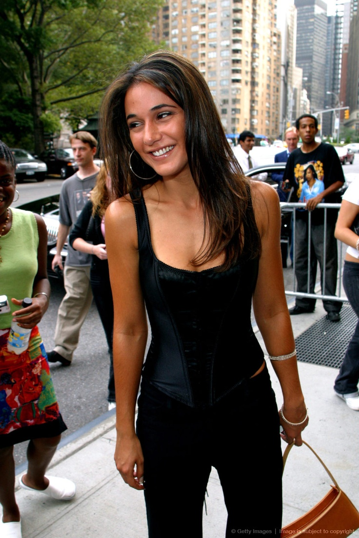 Image detail for -Emmanuelle Chriqui and Eliza Dushku in Midtown Manhattan