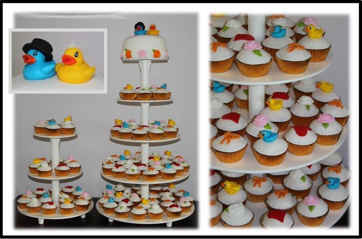 Eendjes & Taart & Cupcakes