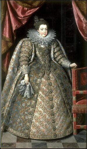 Portrait of Elisabeth of France,future Queen of Spain by Frans Pourbus the Younger, 1615