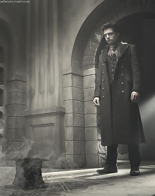 mad hatter   Tumblr  Sebastian Stan as the Mad Hatter in Once Upon A Time.