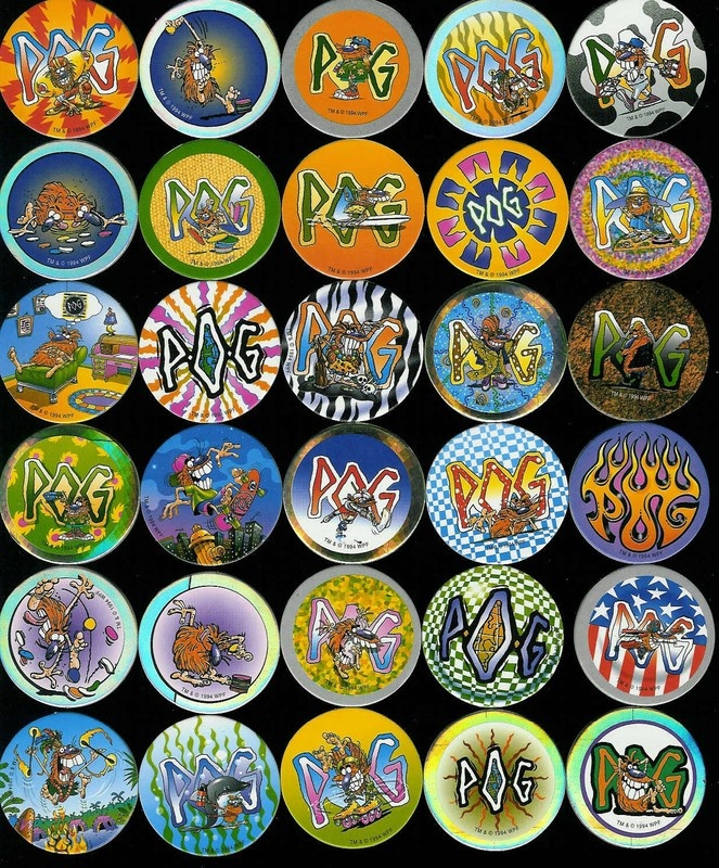 Pogs! 90s collectible!