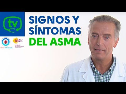 Signos y síntomas del asma | #AsmaInfantil | Vídeos | MedicinaTV