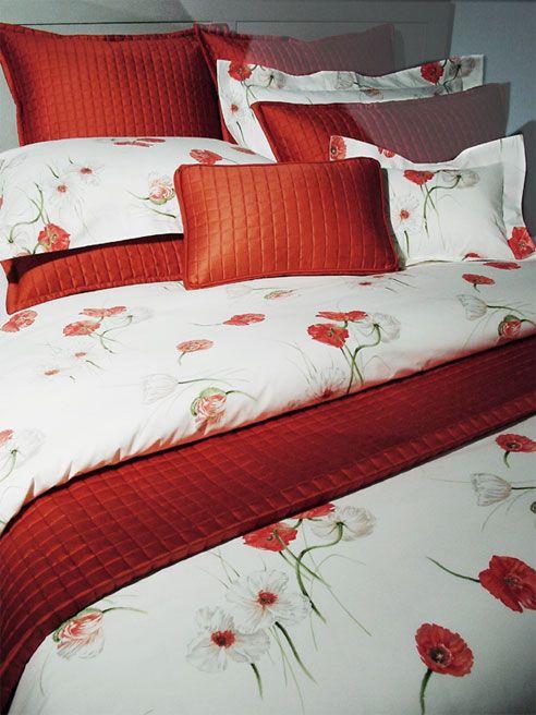 Girl type. asian poppy bedding want