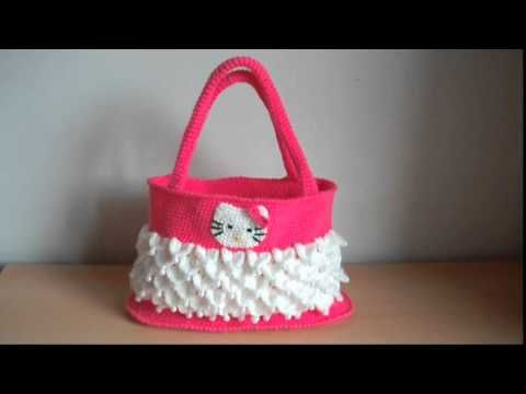 How To Crochet Hello Kitty Bag By Marifu6a Free Pattern Tutorial : 27 best images about BAGS FOR LITTLE GIRLS on Pinterest ...