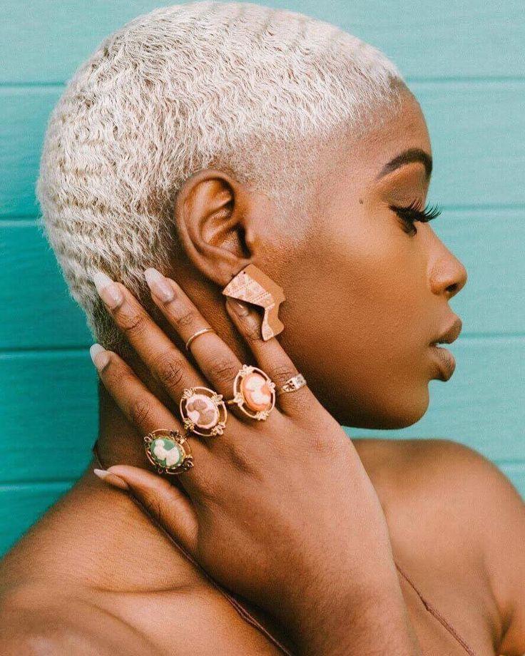 Found confidence in being vulnerable in front of a camera| shop @papyrusncharms |  @freakishnerd . . . . . #blackgirls #darkskingirls #fineassgirls #flawless #fleek #darkskin #blackgirlsrock #womanism #essence #blackwomen #melanin #darkskinblackgirls #queen #blackqueen #thedarkerthebetter #hairgoals #blackgirlsbelike #blackwomenbelike #problack #blackpower #blacklove #blackexcellence #blackbeauties #blackgirlsarelit #melaninonfleek #blackgirlsarepoppin #blonde #bald #heritage