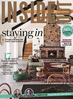 Insideoutpins Magazines Covers May 2017 Home Bathrooms Interiors