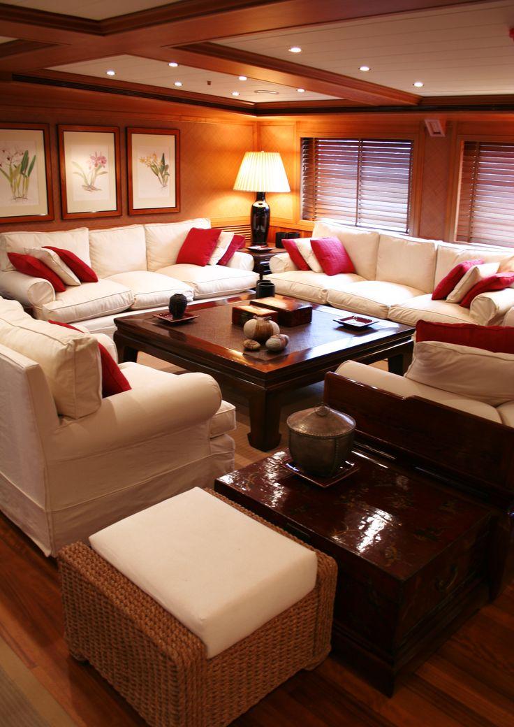 ekinoks interior / yacht interior fit out /MY Blue de Nimes