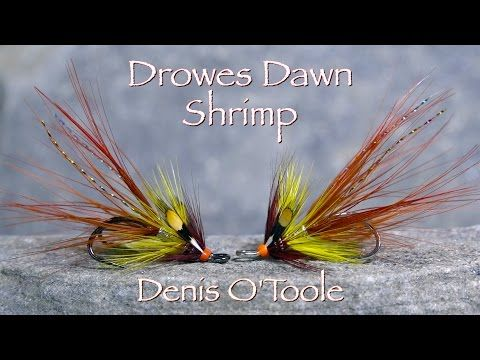 The Drowes Dawn Irish Shrimp Fly by Denis O'Toole - YouTube