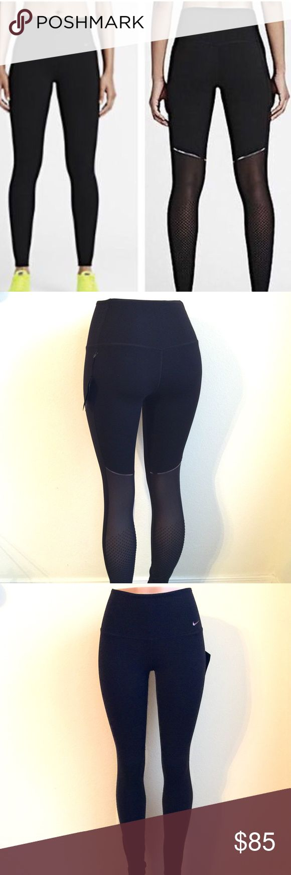Nike Sculpt Cool Training Tights Sculpt Cool Women's Training Tights hug your legs from hip to hem and feature breathable mesh panels for unbeatable comfort and support during your workout. Strategic compression through the waistband, inner thighs and calves provides exceptional support and a flattering fit. The high-rise waistband is higher in the back for comfortable coverage and a locked-in feel as you bend and stretch. When your workout heats up, the mesh-lined waistband and back panels…