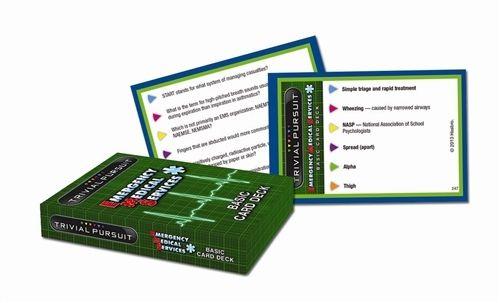 Trivial Pursuit® EMS BLS Cards - EMS World Store