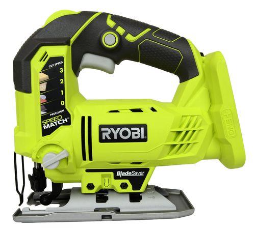 jig saw tool. ryobi p523 18v one+ dual chemistry cordless orbital jig saw, tool only saw tool
