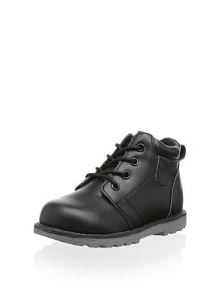 57% OFF Joseph Allen Kid's Casual Shoe (Black Crazy Horse)