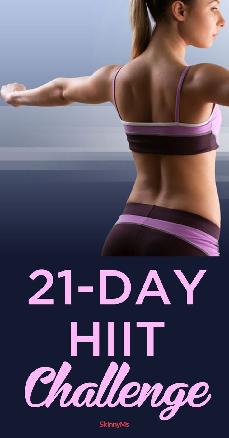 Take the 21-Day HIIT Challenge!