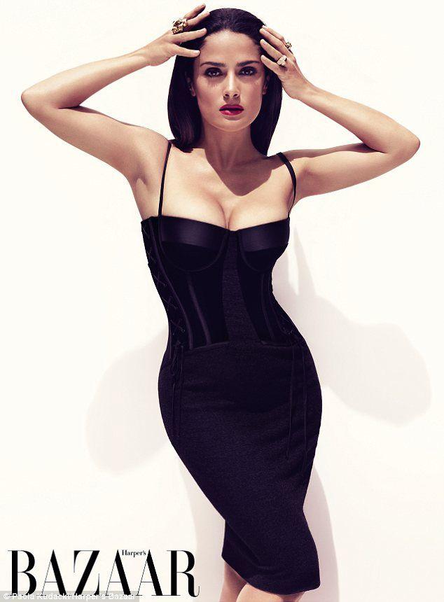 Salma Hayek - If I buy that dress I'll look like that right?