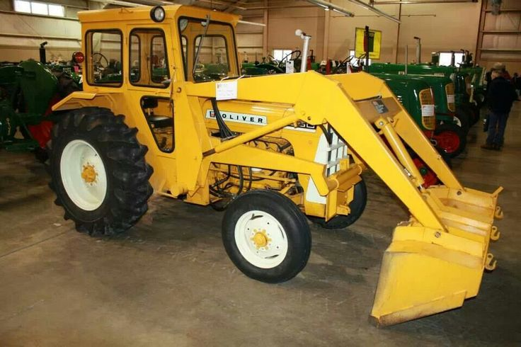 550 Oliver Tractor With Loader : Best oliver farm cat images on pinterest old