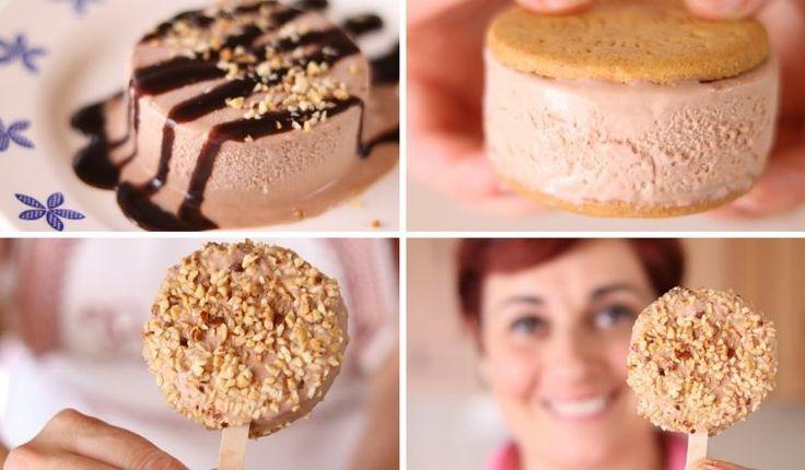 Gelato alla Nutella. Facciamo il gelato alla Nutella con un metodo facile senza gelatiera.