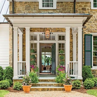 southern front doors45 best Front Porticos for great curb appeal images on Pinterest
