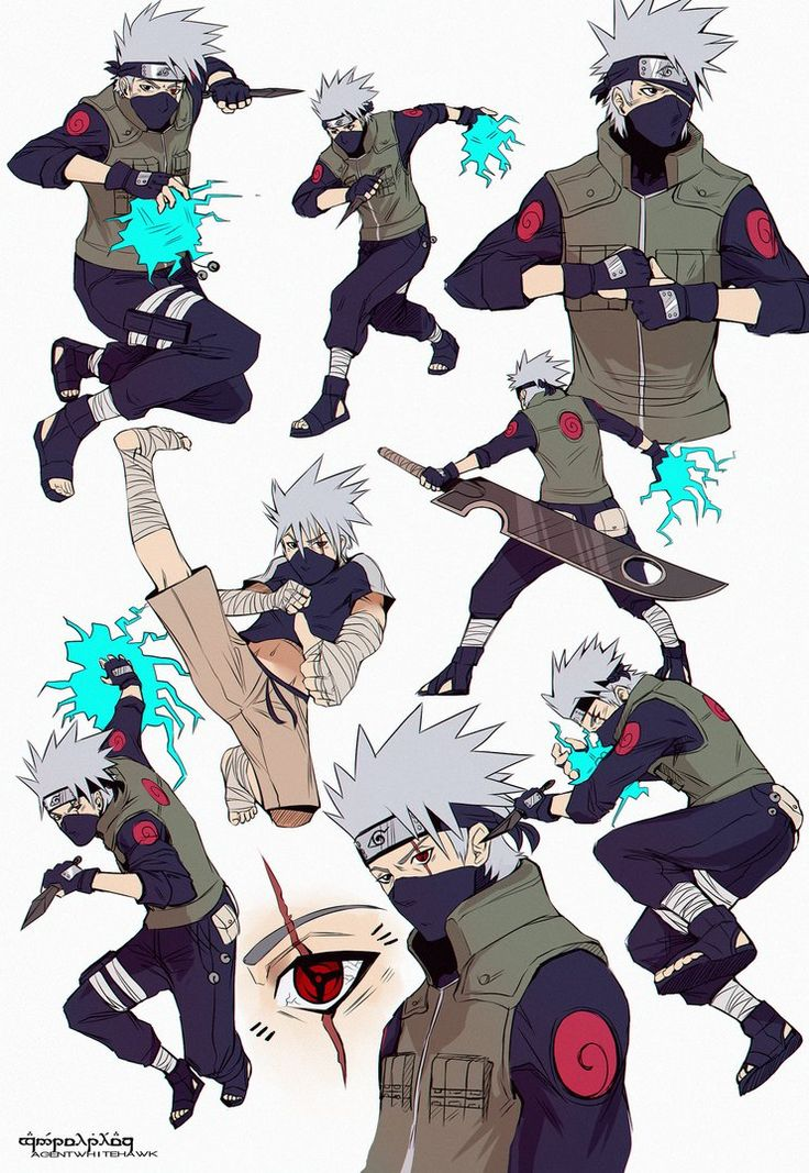 Did some Kakashi sketches today I must do more KAKASHIII Enjoy Art (C) AgentWhiteHawk 2015 Character belongs to Masashi Kishimoto