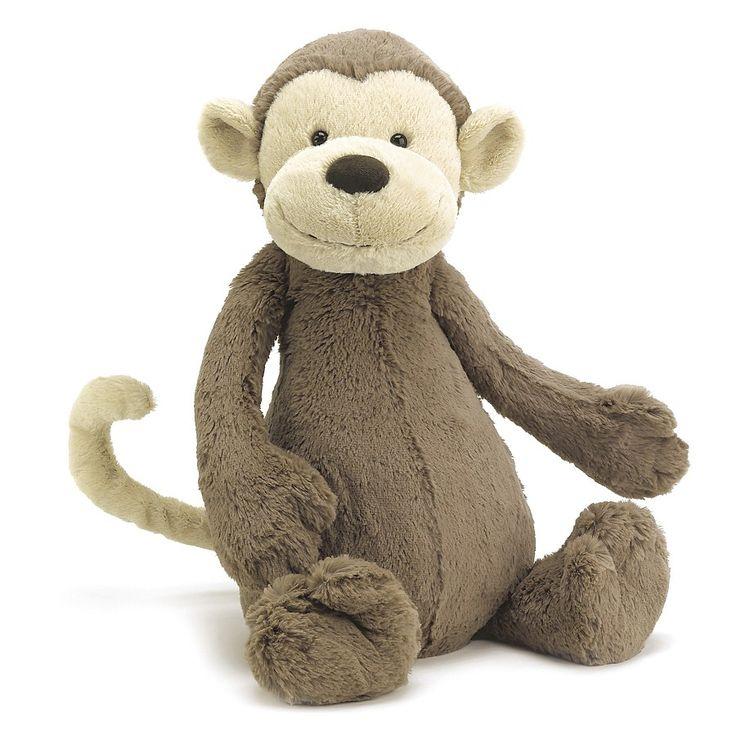Bashful Monkey Jellycat £12