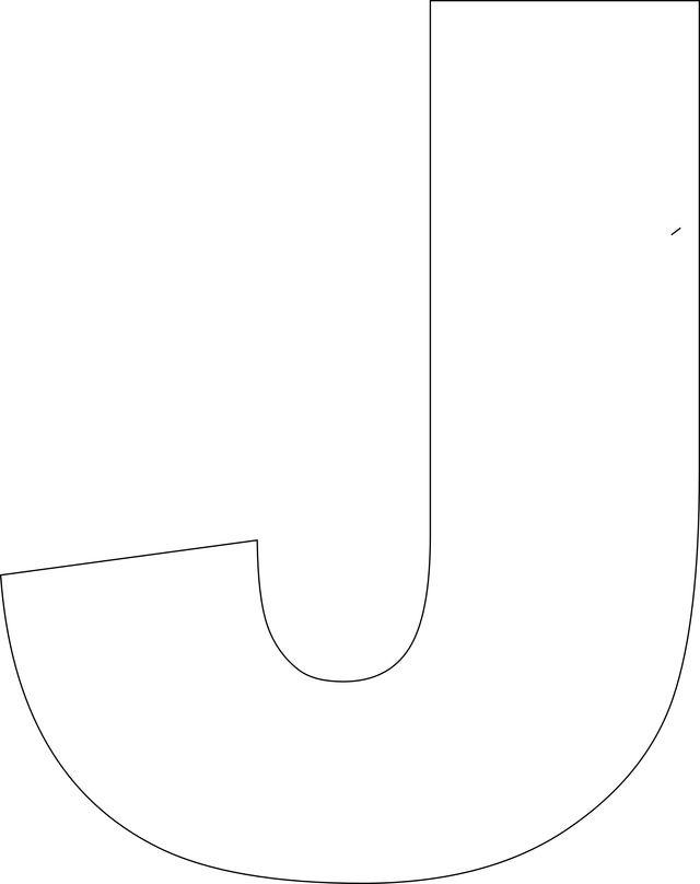 Free Printable Upper Case Alphabet Template Handmade