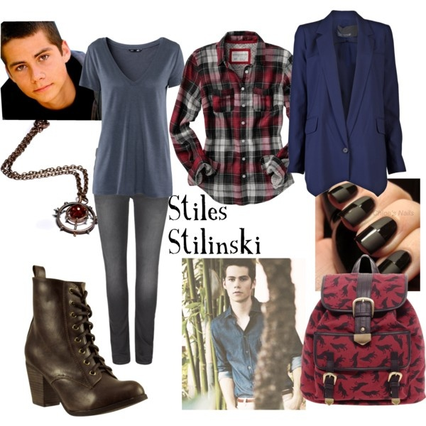 """Stiles Stilinski"" by meagan-wymbs on Polyvore"