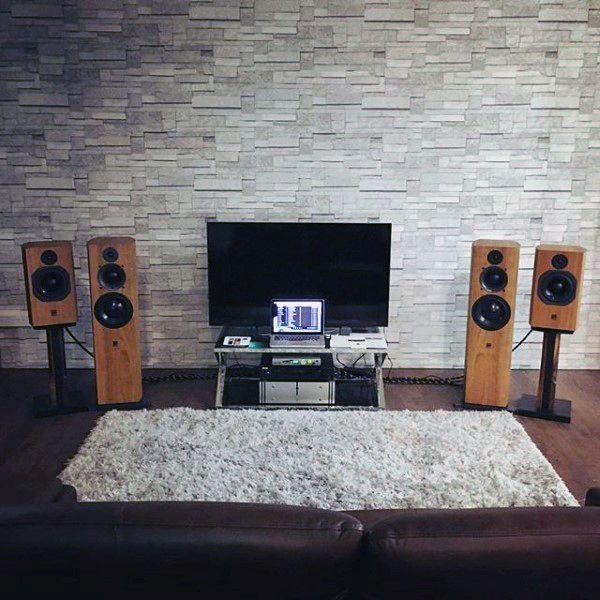 Living Room Bachelor Pad Decorating