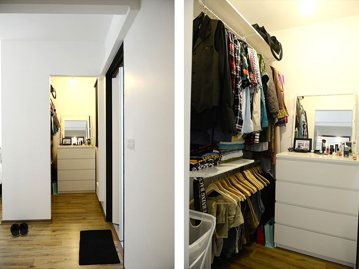 186 best images about home on pinterest house tours flats and industrial - Wardrobe for small spaces minimalist ...