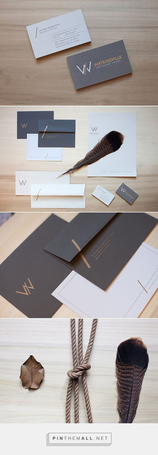 Watkinsville First Baptist Church Branding on Behance | Fivestar Branding – Design and Branding Agency & Inspiration Gallery