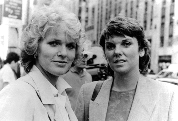 SHARON GLESS (1984 AND 2016) -  '80s TV stars: Then D and now  -  October 11, 2016 Die Idole der 80er #vorunruhestand vorunruhestand.de Sharon Gless & Tyne Daly (Cagney & Lacey)