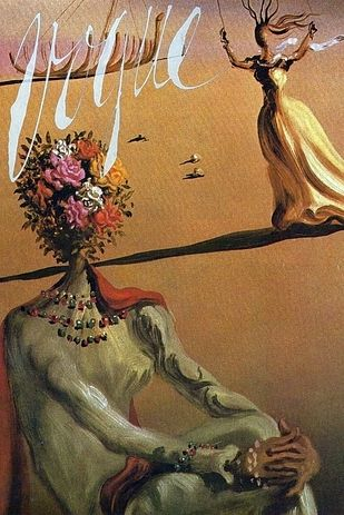 "Salvador Dalí, June 1939 | 11 Famous Artists Who Created Gorgeous ""Vogue"" Covers"