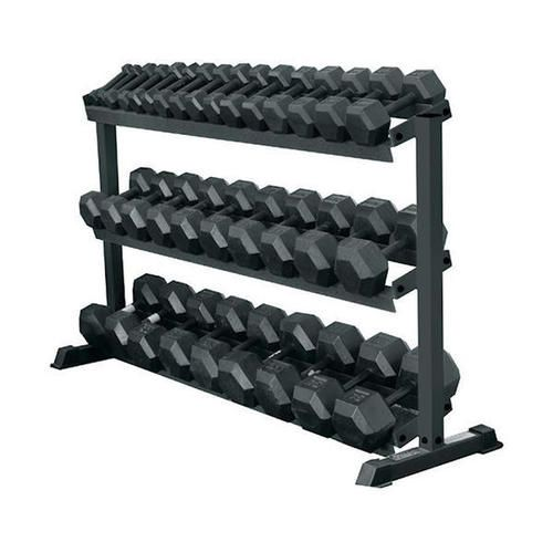 York 69127 Pro Hex 3-Tier Dumbbell Rack