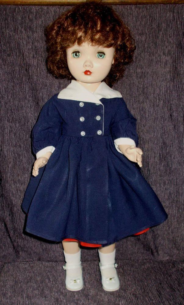 "1953 25"" Madame Alexander Winnie Walker Doll #2540 ~ Original Tagged Clothes #MadameAlexander #DollswithClothingAccessories"