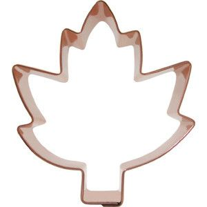 Boston Mountain Copper Cookie Cutter - Maple Leaf