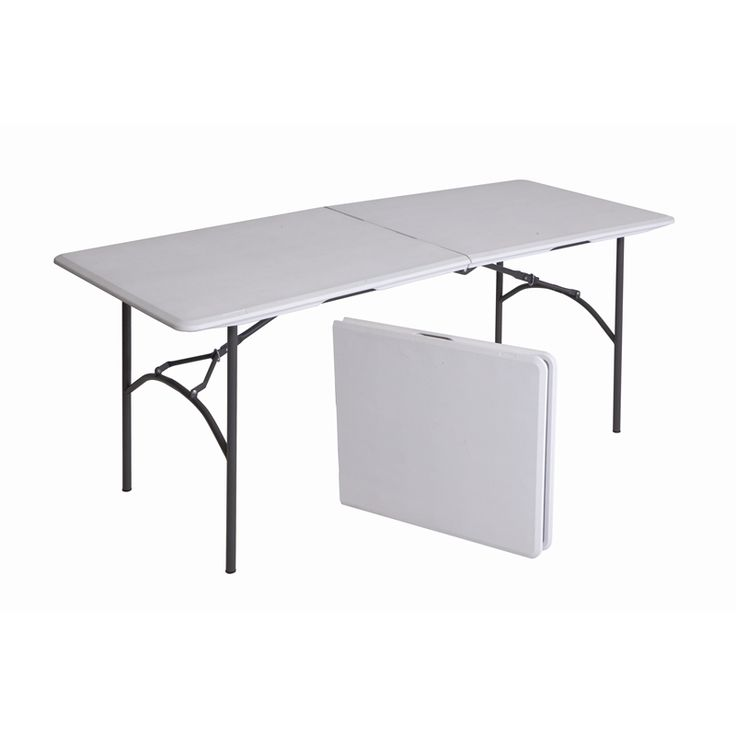 Marquee 183 x 76 x 73 Steel Bi-Fold Blow Mould Table I/N 3191114 | Bunnings Warehouse