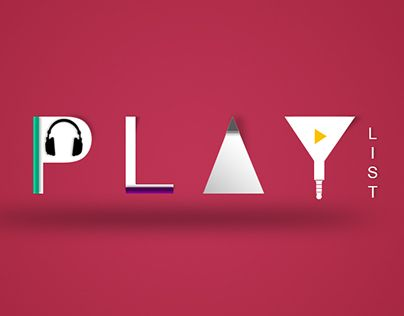 """Check out new work on my @Behance portfolio: """"Play List"""" http://be.net/gallery/48282587/Play-List"""