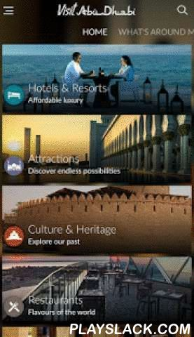 Visit Abu Dhabi  Android App - playslack.com ,  Had enough of bulky maps and heavy guidebooks? The new free Visit Abu Dhabi mobile app is the easiest and most friendly way to discover our emirate, whether online or offline.Be the first to know about all that Abu Dhabi has to offer – from attractions and experiences to culture and heritage, from hotels and restaurants to spas and malls. Find fast and easy-to-navigate information on getting to and around the emirate. Cool off with our…