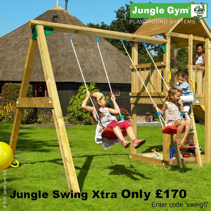 Jungle Gym Swing Module Offer | Offer of the Week | Pinterest