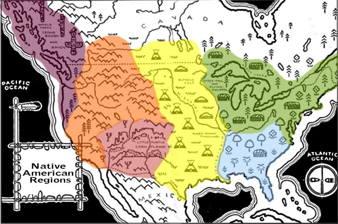 Great website to teach about all the tribes of America.  It is interactive and informational.