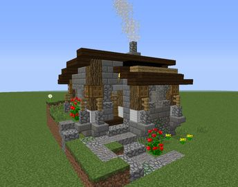 Minecraft house or home